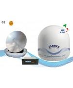 RHINE - R9804 - Satelliten-TV-Antenne für Binnenschiffe