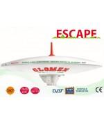 ESCAPE - ANTENNE TV TNT OMNIDIRECTIONNELLE POUR CAMPINGCAR - 37CM DIAM