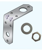 STAINLESS STEEL L MASTHEAD BACKET